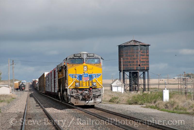 Photo 1884<br /> Union Pacific; Minidoka, Idaho<br /> May 22, 2010
