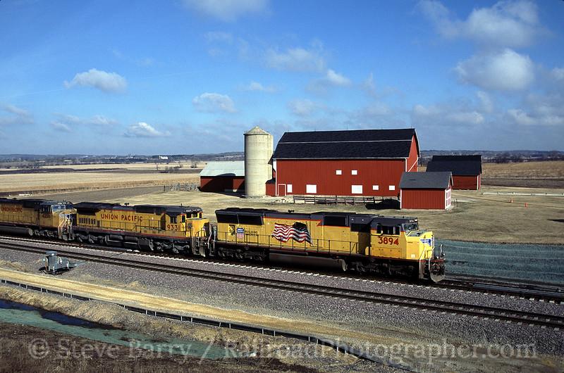 Photo 0538<br /> Union Pacific; Geneva, Illinois