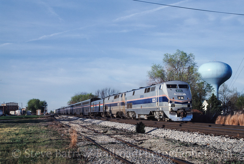 Photo 1406<br /> Amtrak; Rantoul, Illinois