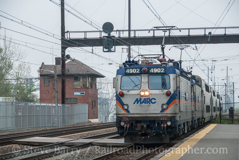 Photo 2607<br /> Maryland Area Rail Commuter; Perryville, Maryland<br /> April 20, 2012