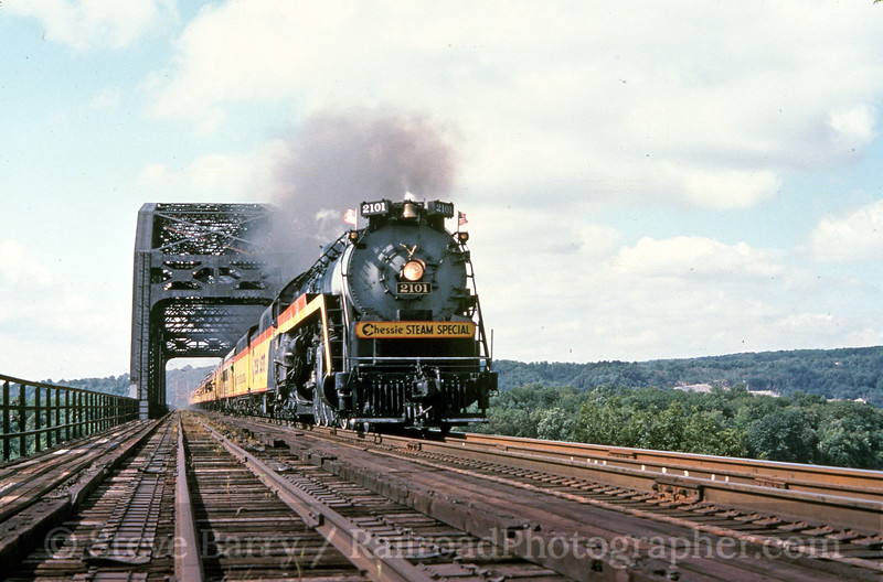 Photo 0195<br /> Chessie Steam Special 2101; Perryville, Maryland