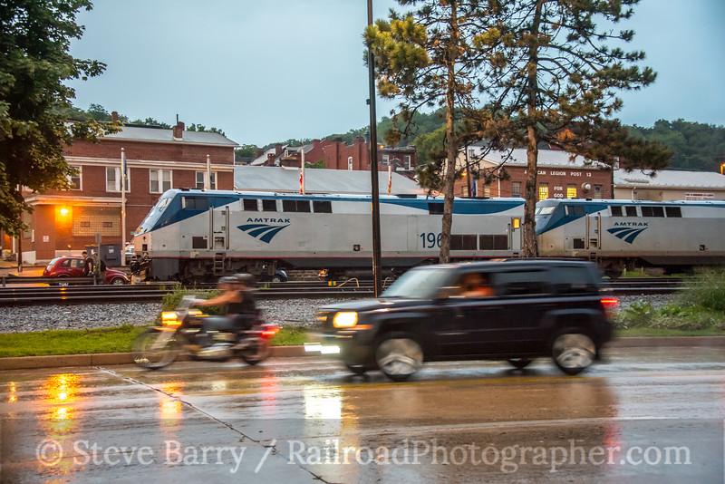 Photo 5136<br /> Amtrak<br /> Cumberland, Maryland<br /> August 8, 2018
