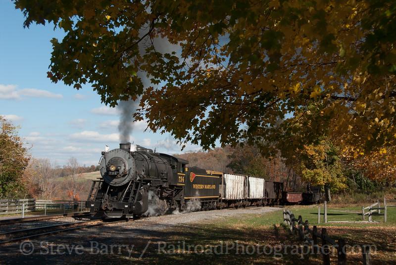 Photo 1968<br /> Western Maryland Scenic; Frostburg, Maryland<br /> October 19, 2010