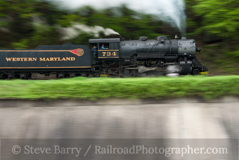 Photo 2080<br /> Western Maryland Scenic; City Junction, Cumberland, Maryland<br /> May 1, 2011