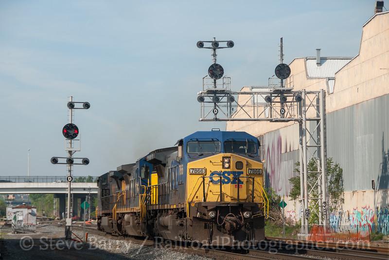 Photo 2605<br /> CSX Transportation; Bush Street, Baltimore, Maryland<br /> April 20, 2012