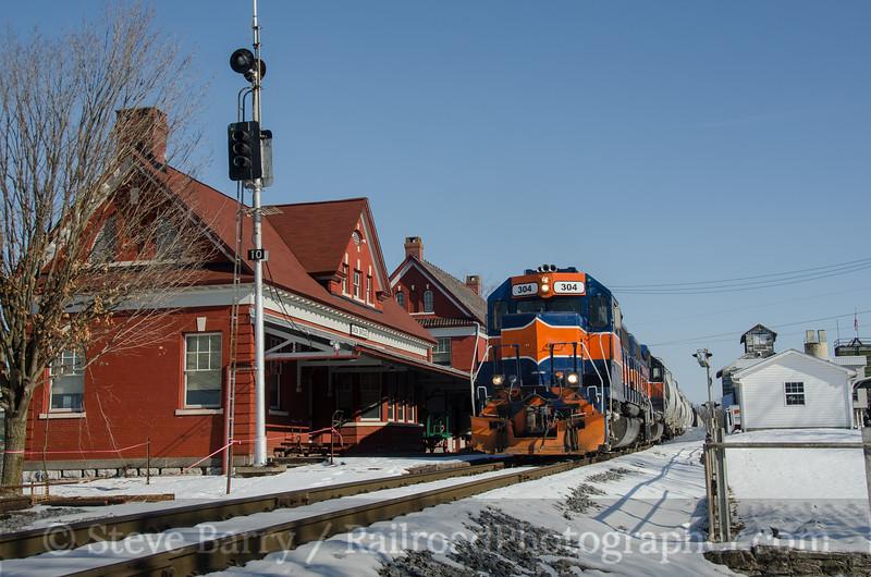 Photo 3073<br /> Maryland Midland; Union Bridge, Maryland<br /> February 11, 2014