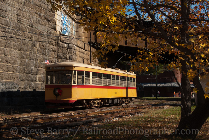 Photo 2282<br /> Baltimore Streetcar Museum; Baltimore, Maryland<br /> November 19, 2011