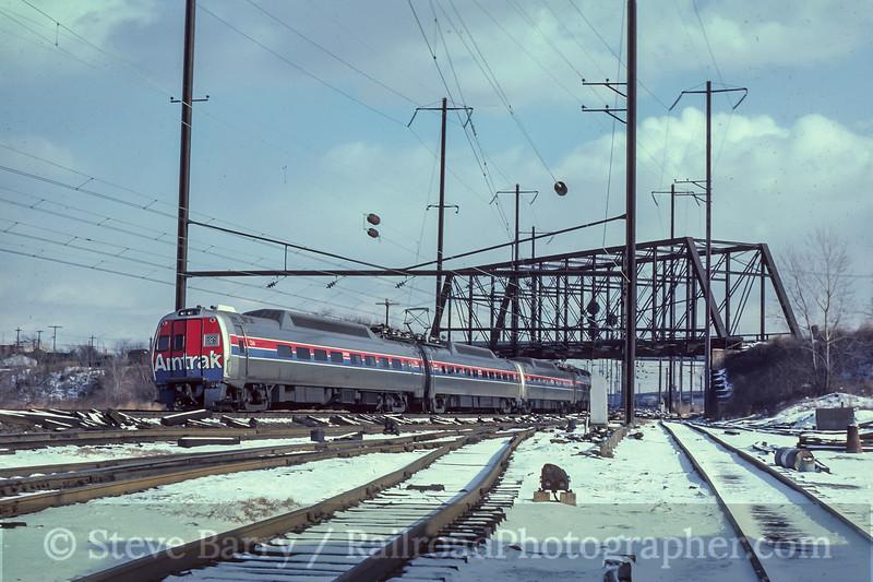 Amtrak; Bayview MD; 1/1981