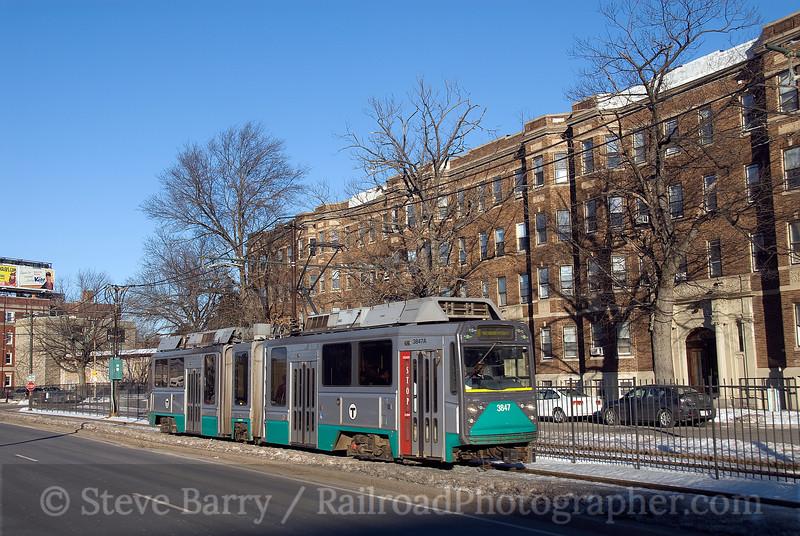 Photo 1479<br /> Massachusetts Bay Transportation Authority; Allston, Boston, Massachusetts<br /> January 25, 2009