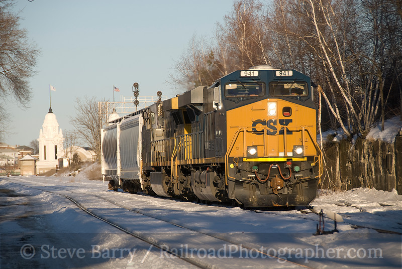 Photo 1480<br /> CSX Transportation; Worcester, Massachusetts<br /> January 24, 2009