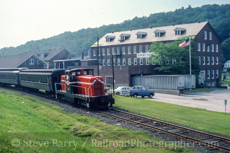 Photo 4991<br /> Berkshire Scenic Railroad Museum<br /> South Lee, Massachusetts<br /> July 1986