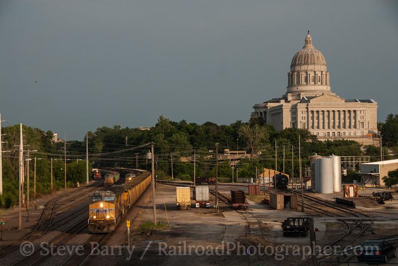 Union Pacific; Jefferson City MO; 6/11/12