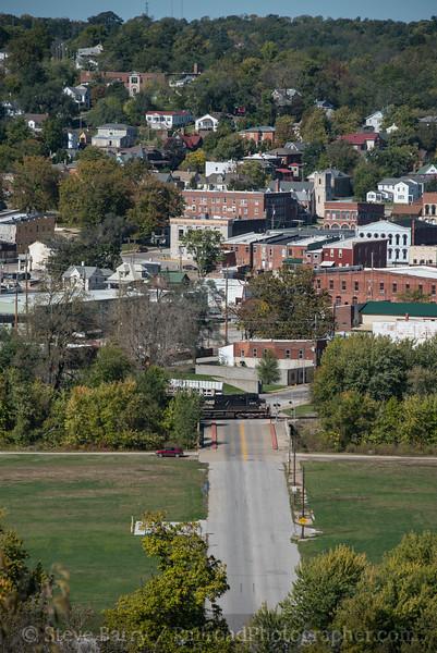 Photo 4372<br /> Norfolk Southern<br /> Hannibal, Missouri<br /> October 16, 2017