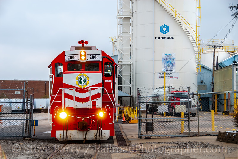 Terminal Railroad Association; St. Louis MO; 2/25/11