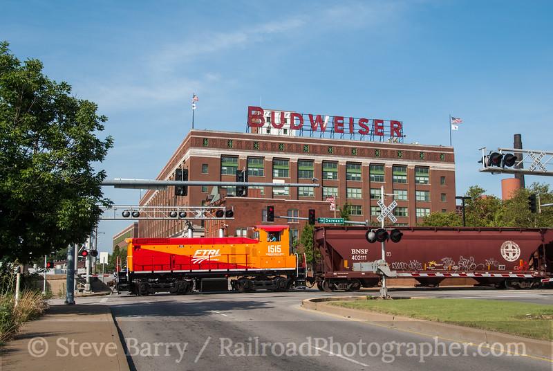 Photo 2367<br /> Foster Townsend Rail Logistics; Anheuser Busch, St. Louis, Missouri<br /> June 16, 2012
