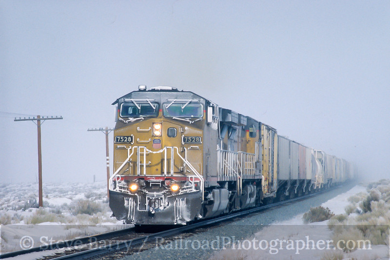 Photo 4507<br /> Union Pacific<br /> Wells, Nevada<br /> February 2004