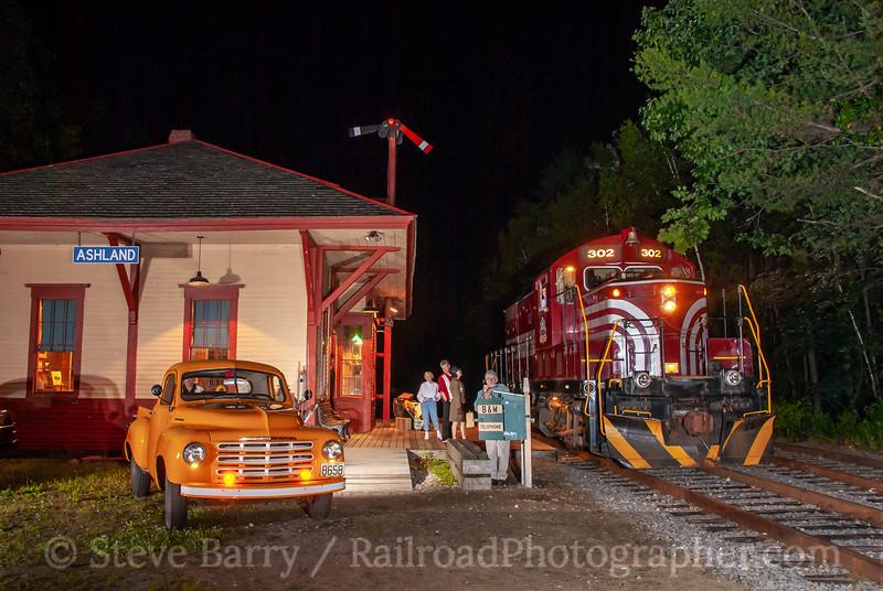 Hobo Railroad; Ashland NH; 6/11/10