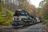 Photo 3236<br /> Norfolk Southern; Pattenburg, New Jersey<br /> October 23, 2014
