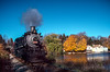 Photo 2143<br /> New York, Susquehanna & Western 142; Lake Grinnell, New Jersey<br /> October 23, 1999