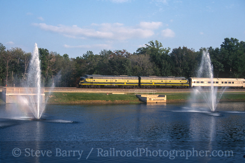 Photo 4594<br /> Erie 835 and 834<br /> Mount Olive, New Jersey<br /> September 1998