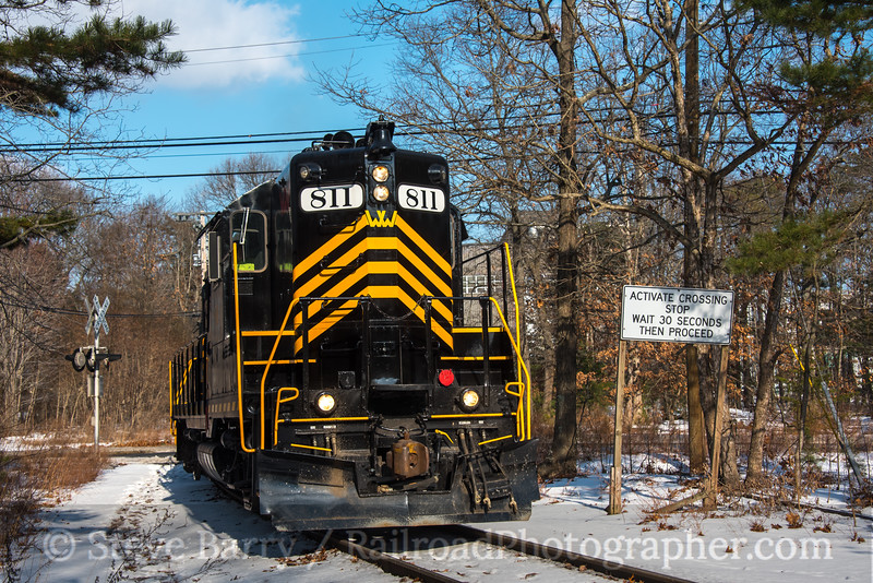 Photo 4497<br /> Winchester & Western<br /> Millville, New Jersey<br /> January 9, 2018