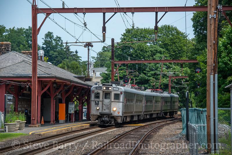 NJ Transit; Bernardsville NJ; 7/22/21