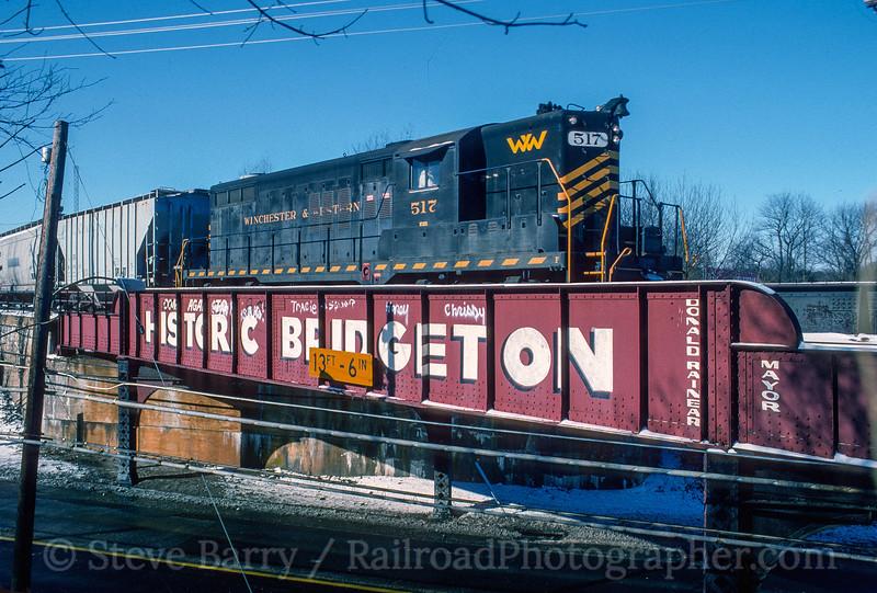 Winchester & Western; Bridgeton NJ; 12/30/93