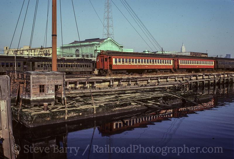 NJ Transit; Hoboken NJ; 2/1982