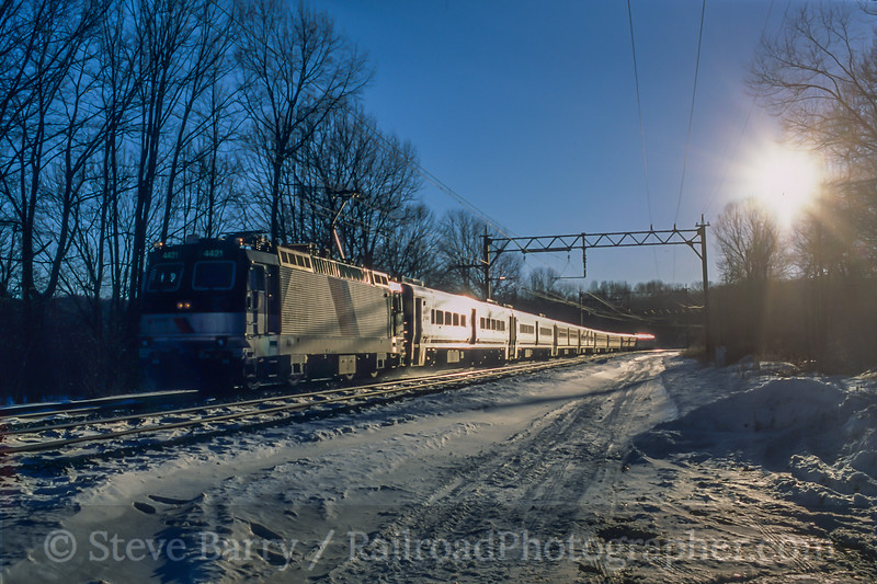 NJ Transit; Denville NJ; 2/2004