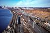 NJ Transit and PATH; South Kearny NJ; 1/1997