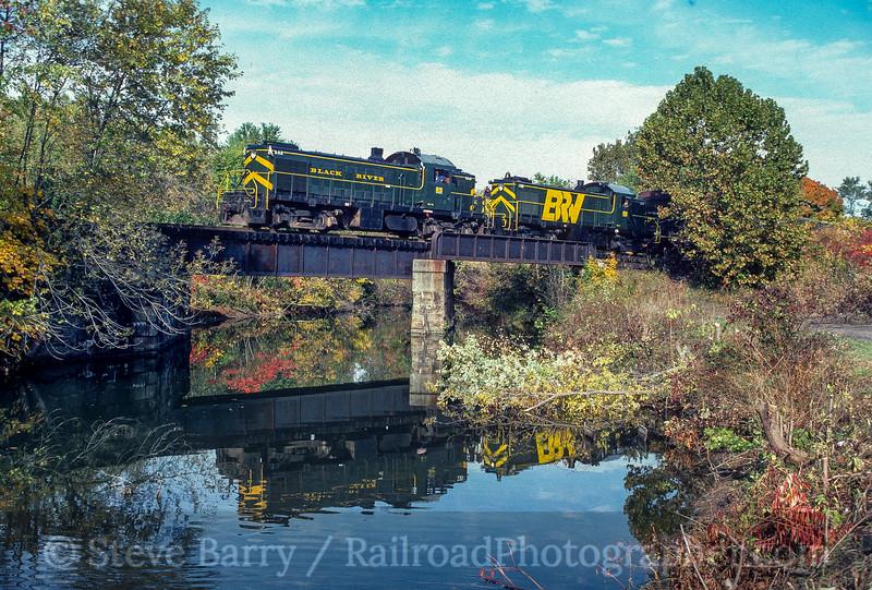Black River & Western; Lambertville NJ; 10/1980