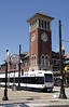 Photo 1271<br /> Newark Light Rail (NJ Transit); Broad Street, Newark, New Jersey<br /> January 8, 2009