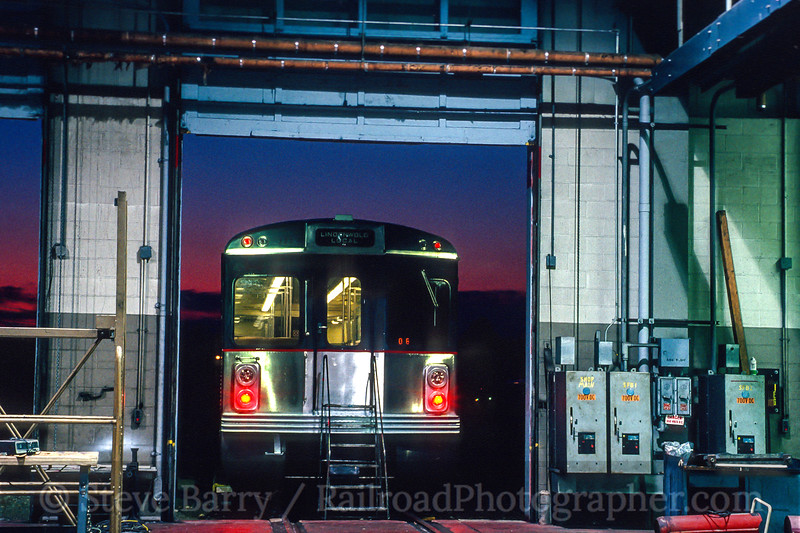Photo 4545<br /> Port Authority Transit Corporation<br /> Lindenwold, New Jersey<br /> May 1987