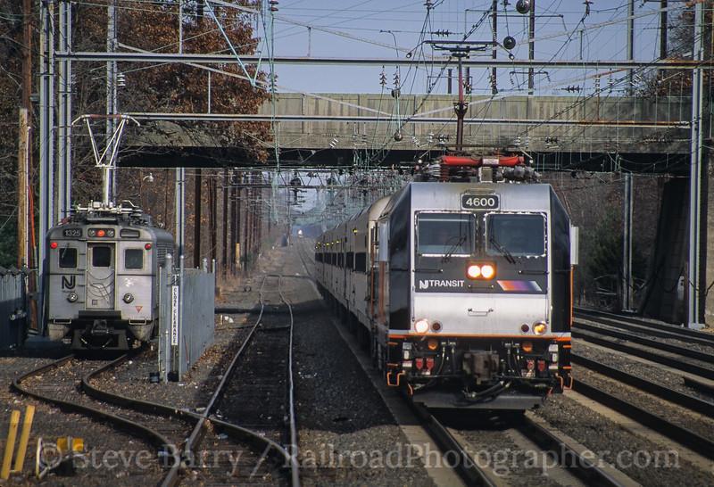 Photo 4216<br /> New Jersey Transit; Princeton Junction, New Jersey<br /> November 2005