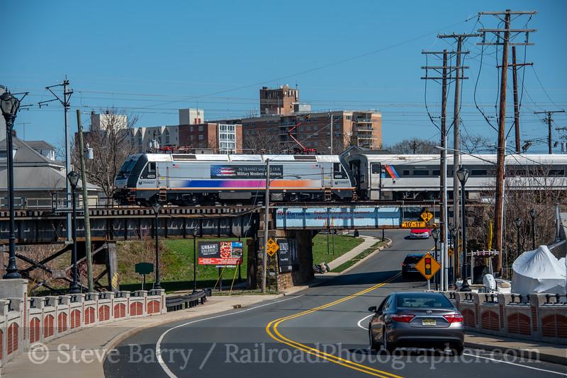 NJ Transit; Red Bank NJ; 3/27/21