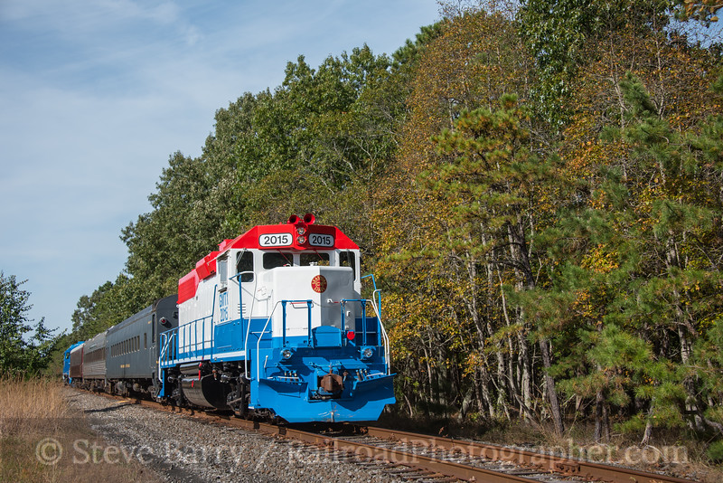 Photo 4381<br /> Cape May Seashore Lines<br /> Estell Manor, New Jersey<br /> October 21, 2017
