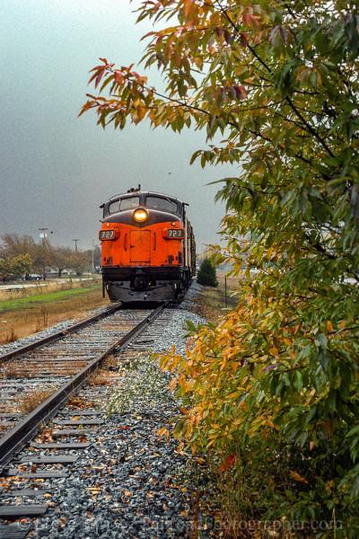 Southern Railroad of New Jersey; landisville NJ; 10/30/93