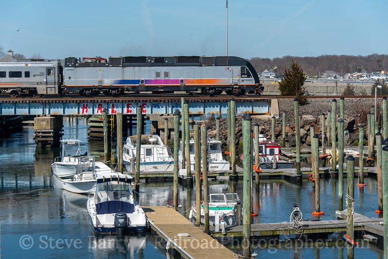NJ Transit; Avon-by-the-Sea NJ; 3/27/21