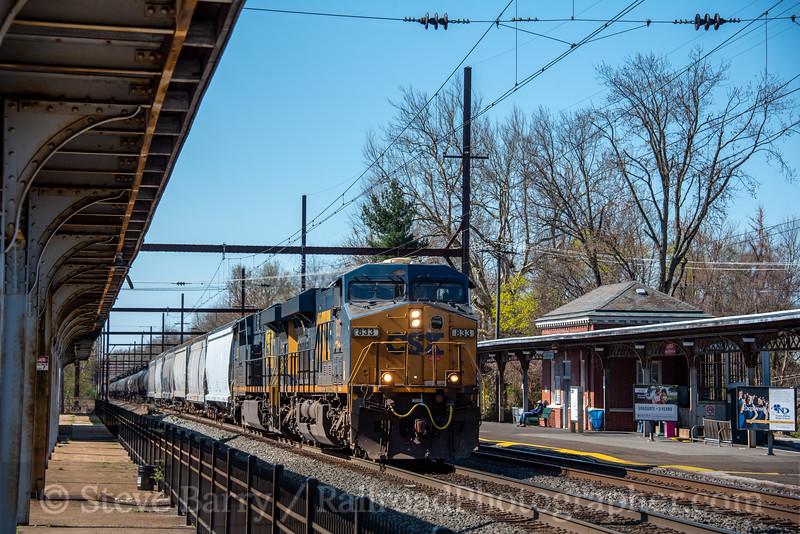 CSX; West Trenton NJ; 4/6/20