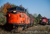 Photo 4654<br /> Southern Railroad of New Jersey<br /> Winslow Junction, New Jersey<br /> October 1993