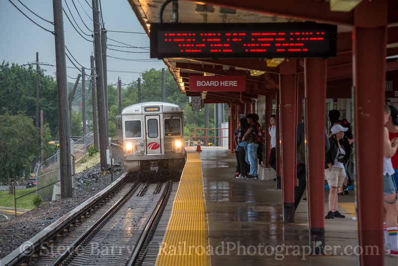 Photo 4742<br /> Port Authority Transit Corporation<br /> Ferry Avenue, Camden, New Jersey<br /> June 10, 2018