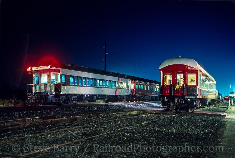 Photo 5207<br /> New Jersey Transit (on Winchester & Western)<br /> Bridgeton, New Jersey<br /> February 1991