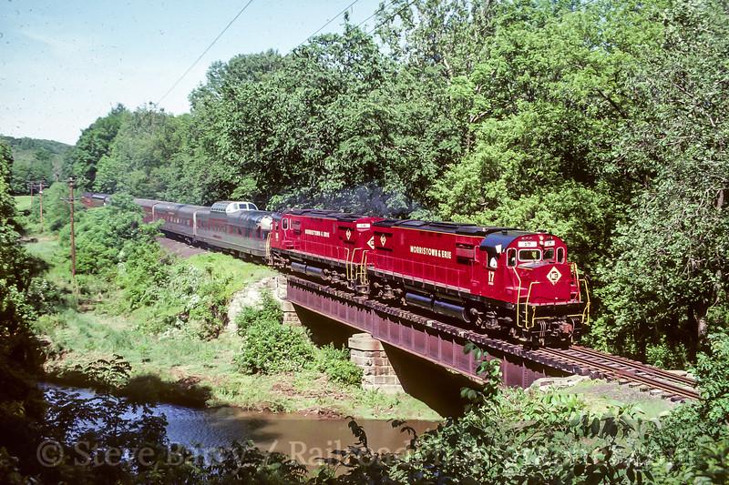 Morristown & New Jersey (on BR&W); Lambertville NJ; 6/88