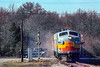 Southern Railroad of New Jersey; Alloway Junction NJ; 2/26/98