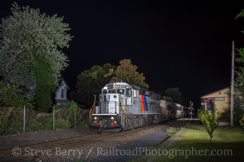 Photo 5180<br /> New Jersey Transit<br /> Berlin, New Jersey<br /> August 30, 2018