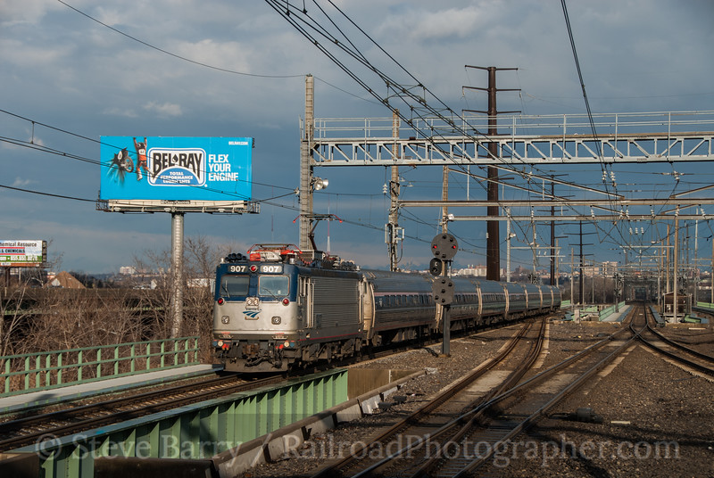Photo 2274<br /> Amtrak; Secaucus Junction, New Jersey<br /> January 27, 2012