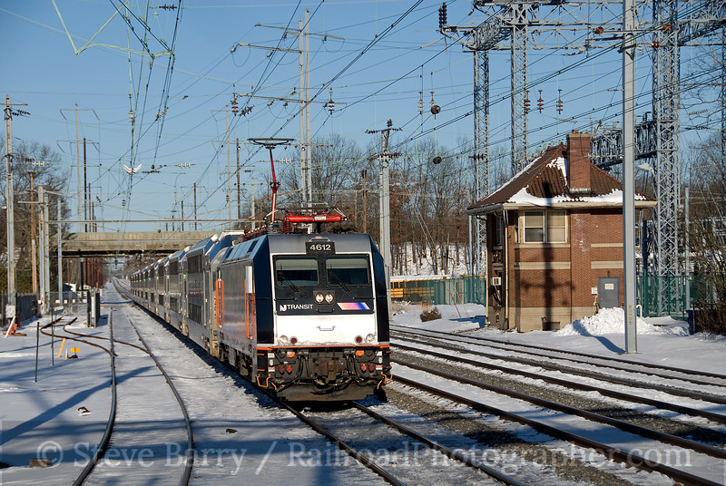 Photo 1790<br /> New Jersey Transit; Princeton Junction, New Jersey<br /> February 7, 2010