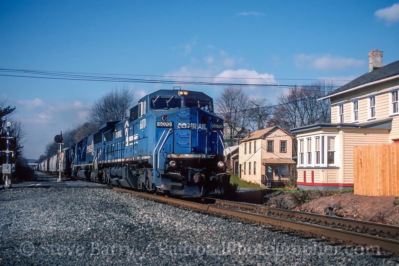 Conrail; Three Bridges NJ; 11/1998
