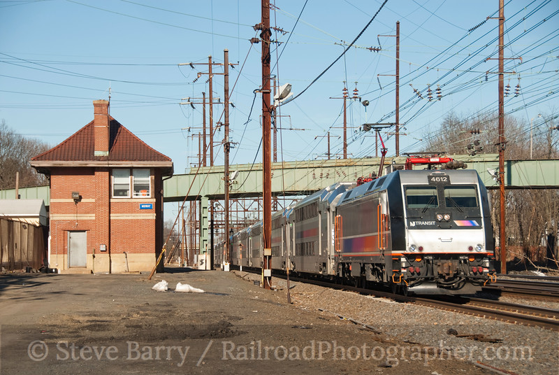 Photo 1823<br /> New Jersey Transit; Monmouth Junction, New Jersey<br /> March 6, 2010