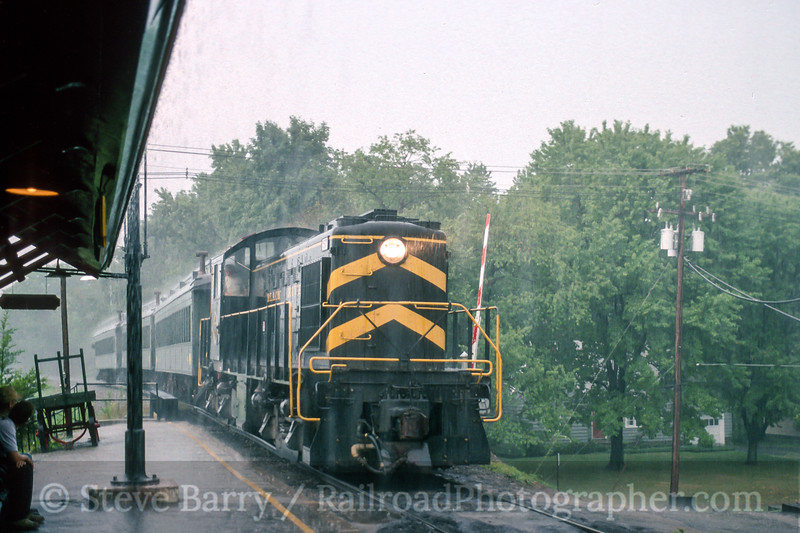 Photo 4694<br /> Black River & Western<br /> Ringoes, New Jersey<br /> August 1993